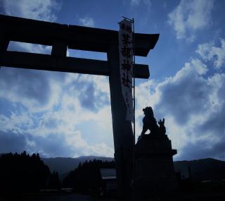 茅部神社大鳥居