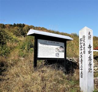 寺町廃寺跡1