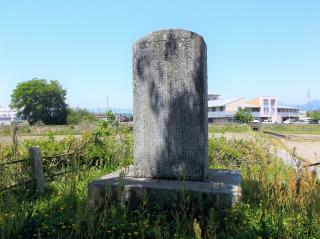 貞孝母子の碑